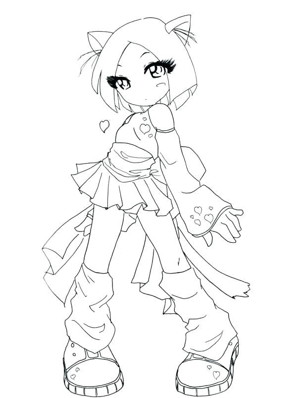 618x803 Cute Anime Coloring Pages To Print Coloring Pages Baby Girl