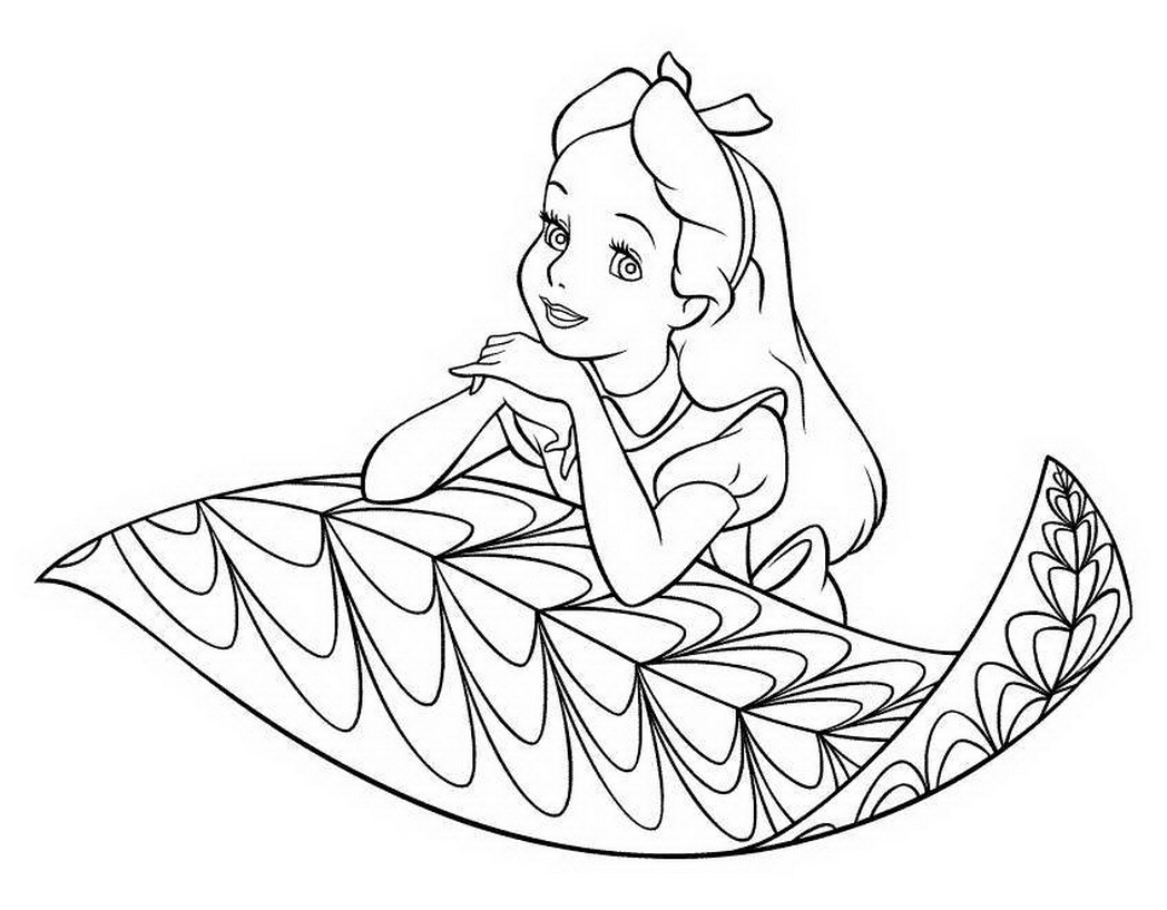 1048x817 Disney Cartoon Cute Baby Girl Coloring Pictures 476297 Coloring