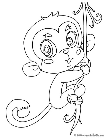364x470 Aap ) Coloring Pages For All Ages 2 Monkey