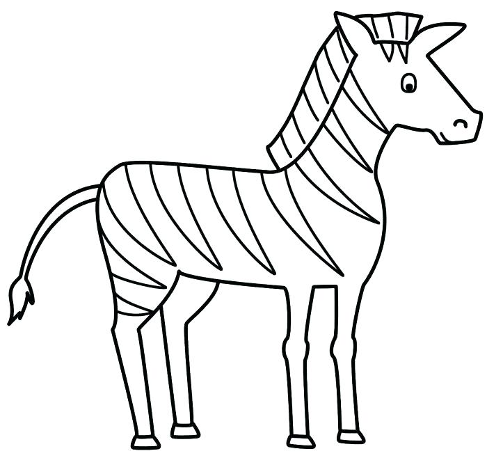 700x658 Zebra Coloring Pages Zebra Printable Coloring Pages Zebra Template