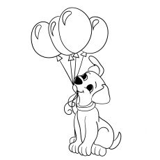 230x230 Top 10 Free Printable Balloon Coloring Pages Online