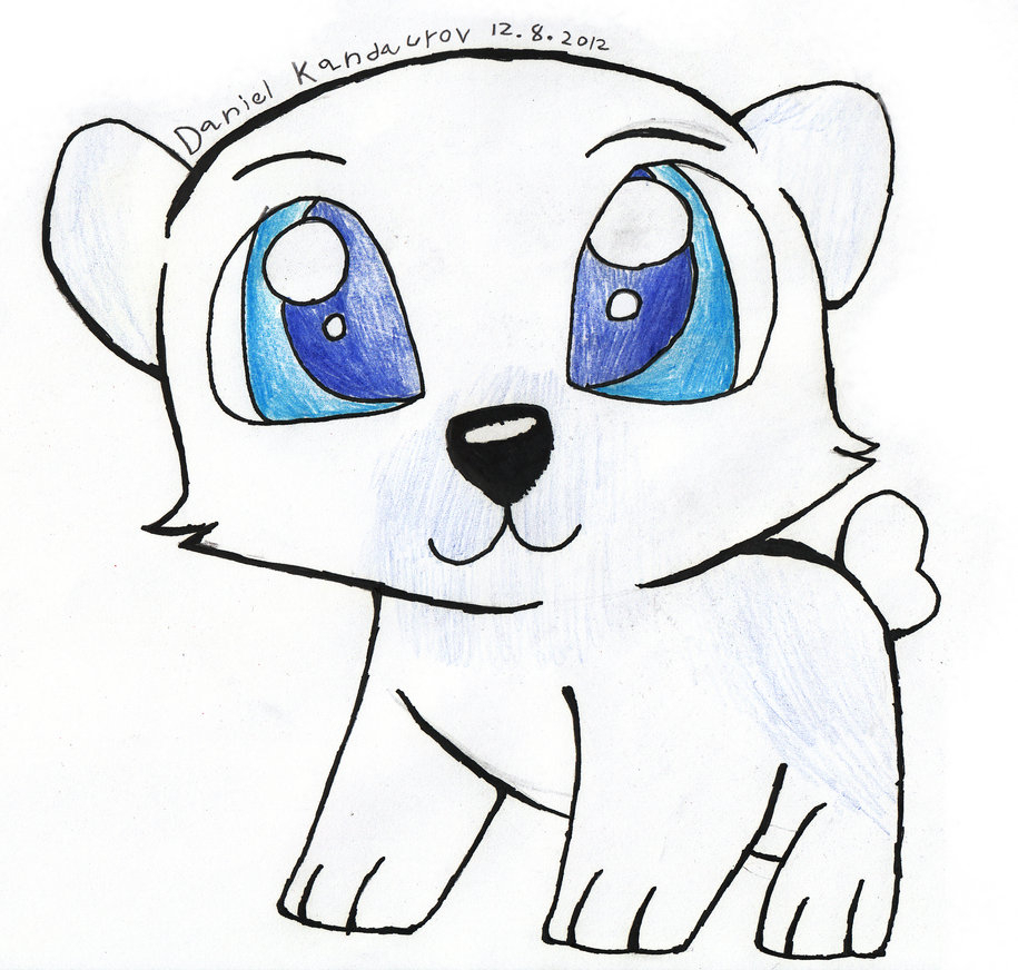 915x872 Cute Polar Bear Drawing Baby Polar Bear Drawing