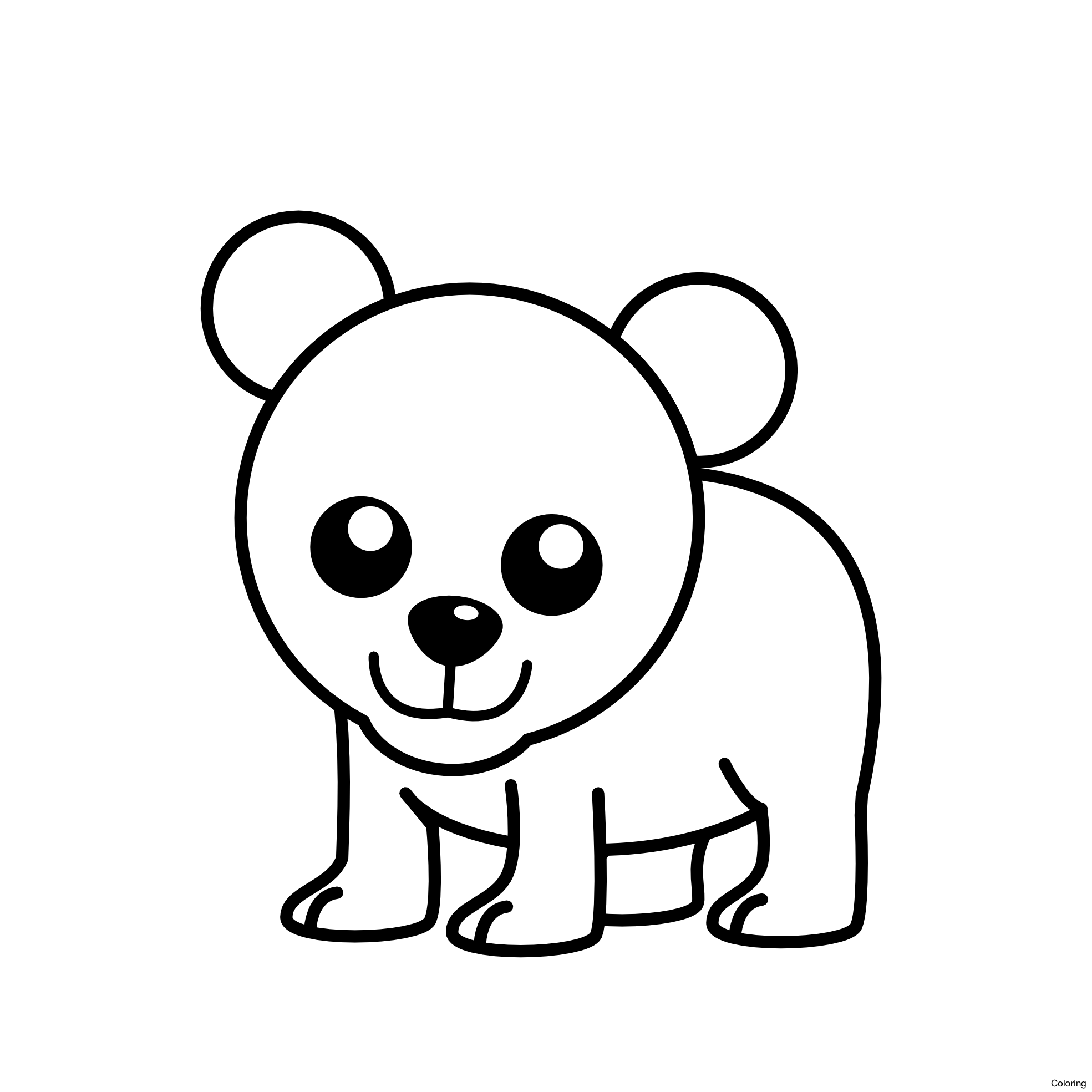 1969x1969 Maxresdefault How To Draw A Cute Polar Bear Coloring 21f And Easy