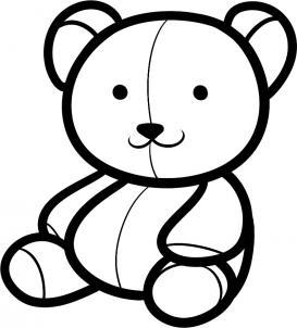 273x302 How To Draw A Teddy Bear For Kids Beautiful, Cute Amp Fun
