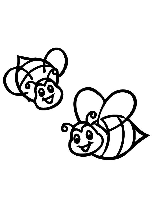 Cute Bee Drawing At GetDrawings