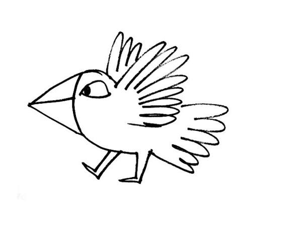 Cute Bird Drawing At Getdrawingscom Free For Personal Use