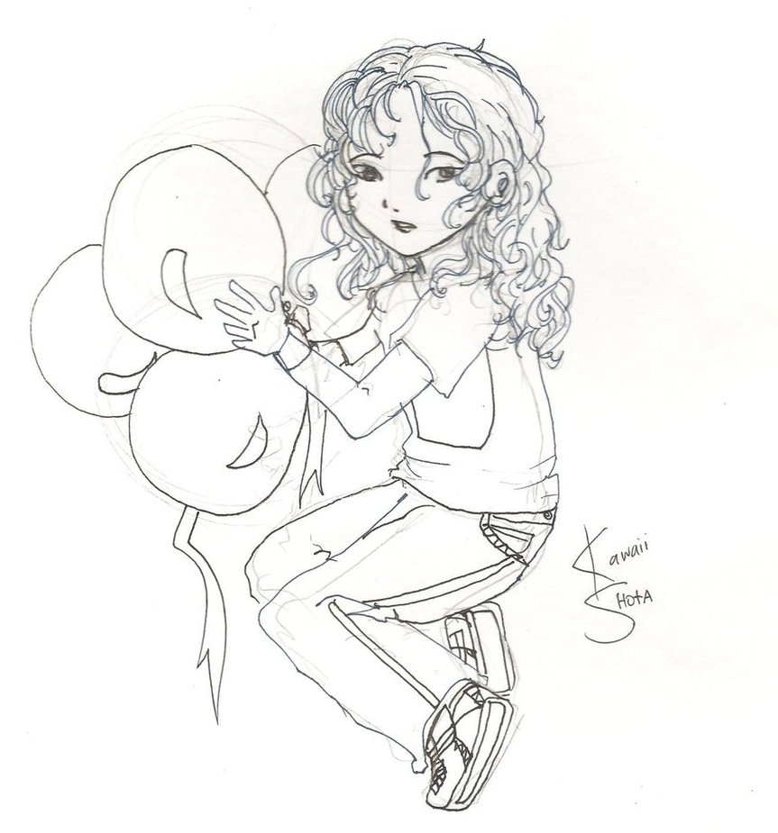 863x925 Cute Little Boy Sketch By Ladynighty