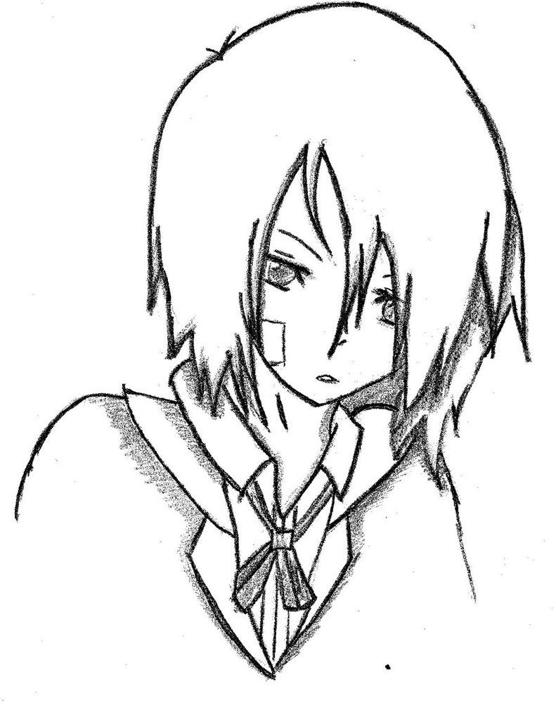 791x1011 Cute Butler Boy By Erizu5