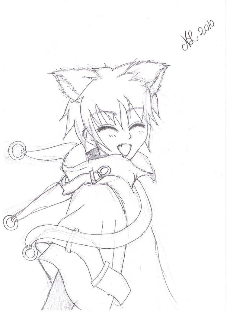 762x1048 Cute Cat Boy By Nanatop