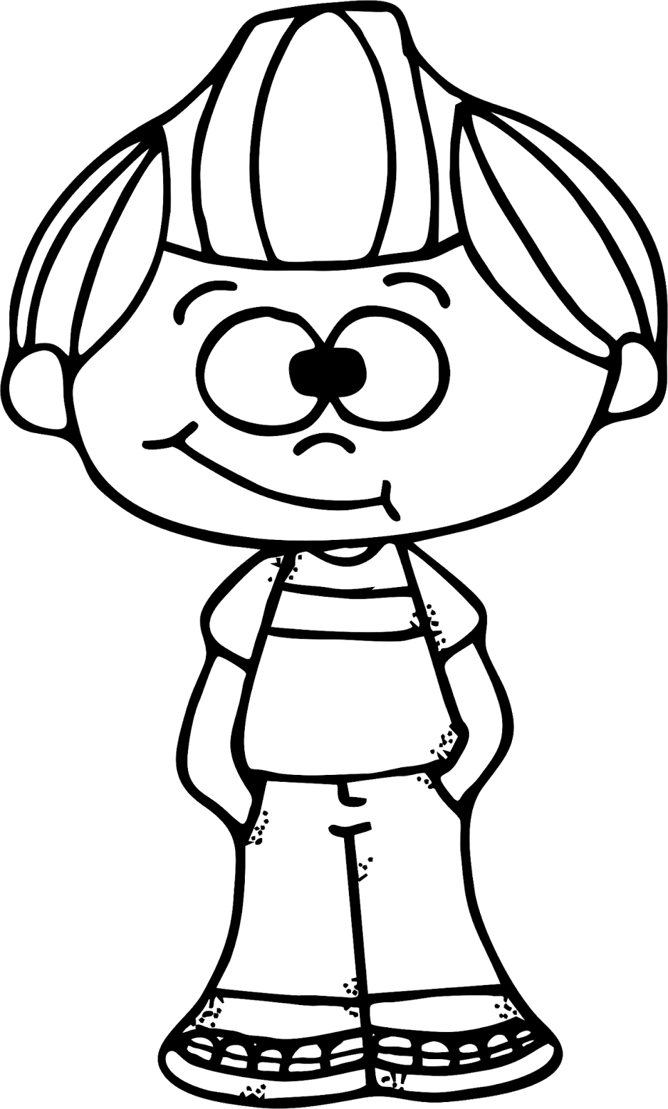963x1600 Worksheetjunkie Cute Boy Clipart Freebie!