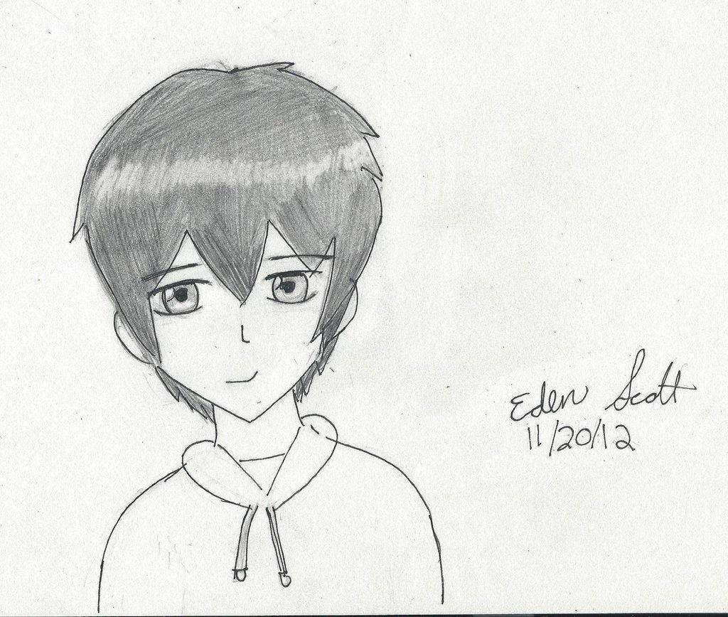 1024x868 Cute Boy Drawing By Eedeetheartist
