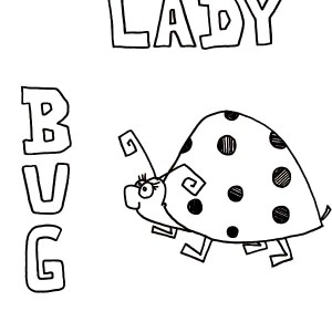 300x300 Cute Lady Bug Coloring Page Color Luna