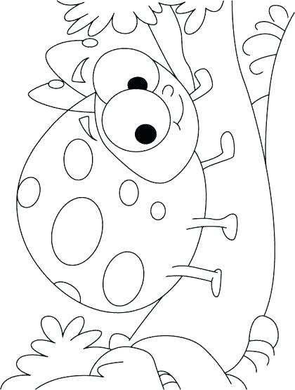 420x556 Lady Bug Coloring Page Ladybug Coloring Page Lady Beetle Coloring