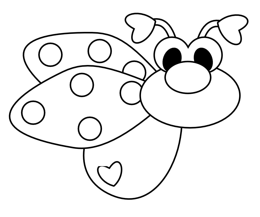1086x905 Love Bug Coloring Pages 2020 Other Images Cute Bug Coloring Pages