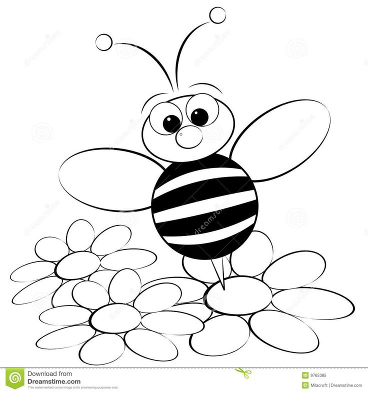 Cute Bumble Bee Drawing at GetDrawings.com | Free for personal use ...
