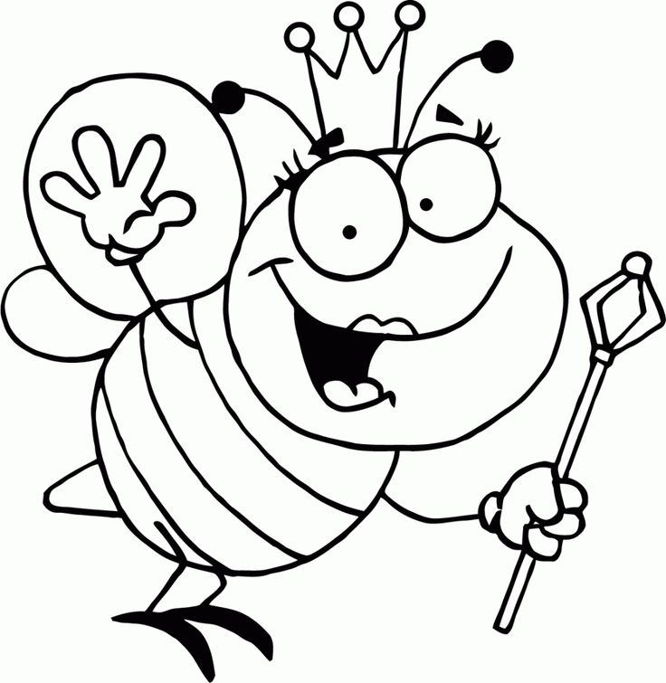 736x755 the 25 best bumble bee cartoon ideas on pinterest cartoon bee - Bumble Bee Coloring Pages