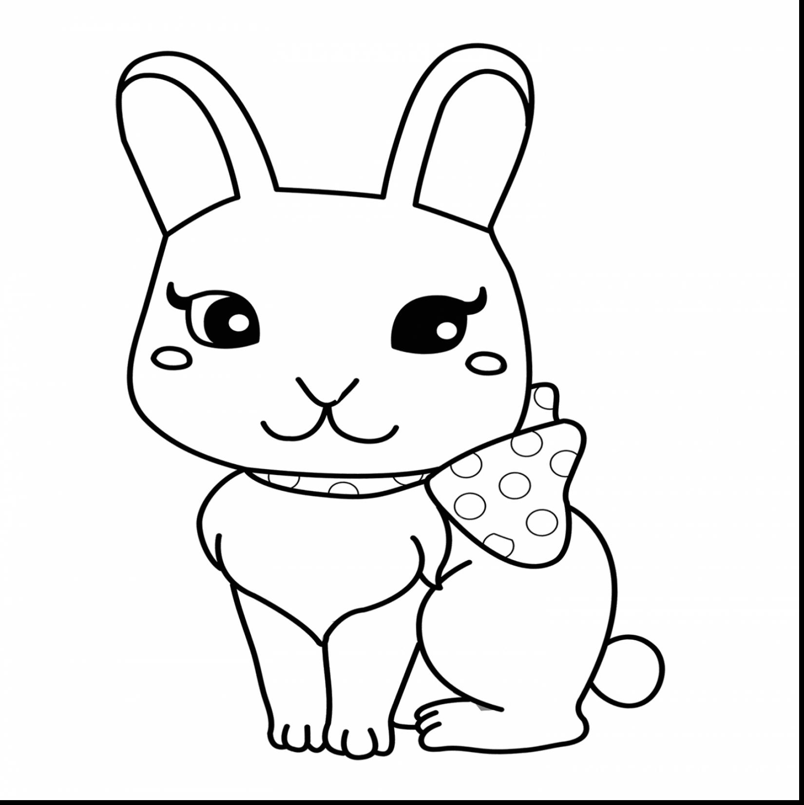 Cute Bunny Rabbit Drawing At Getdrawings Free For Personal Use