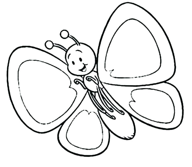 728x632 Butterfly Coloring Page Fall Butterfly Butterfly Coloring Pictures