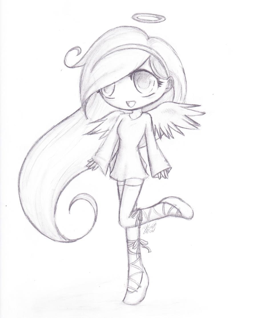 Cute Cartoon Girl Drawing At Getdrawings Com Free For Personal Use