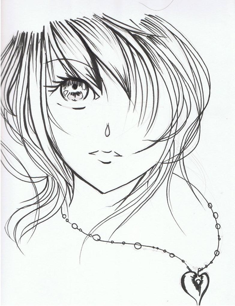 783x1020 Beautiful Cartoon Girl Drawing Sketch Of Beautiful Cartoon Girls