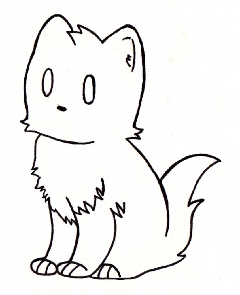 833x1024 Cute Cat Drawings Simple Cute Cat Drawing Clipart Best
