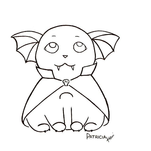 640x640 Drawing Cute Halloween Drawings Plus Cute Halloween Cat Drawings