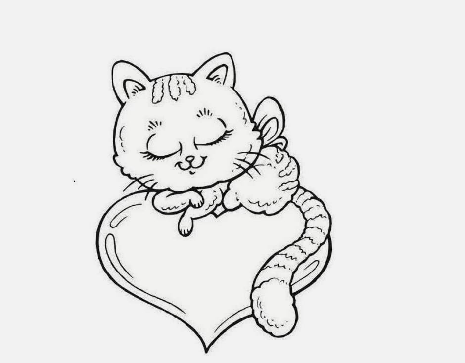 Cute Cat Drawing at GetDrawings.com | Free for personal use Cute Cat ...