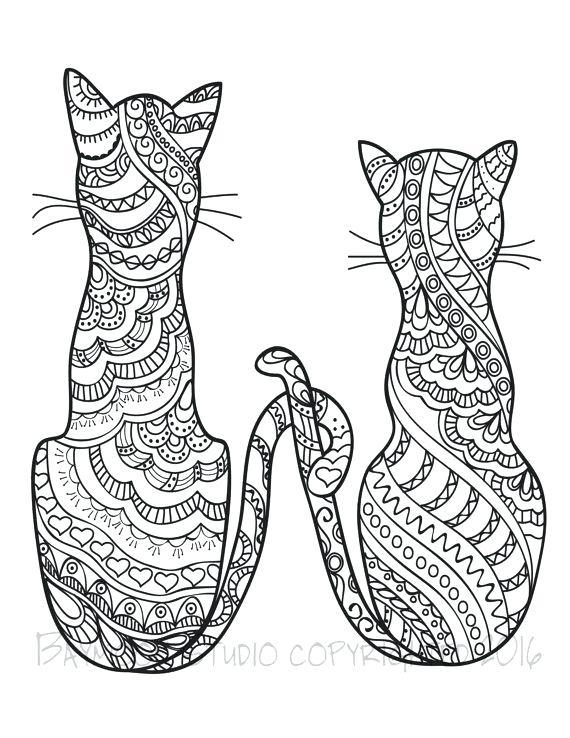 Cute Cats Drawing At Getdrawings Com