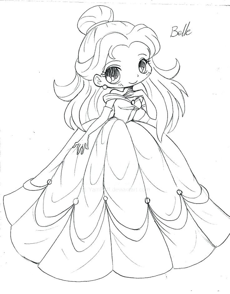736x941 Cute Chibi Coloring Pages Princess Draw Coloring Page Cute Chibi