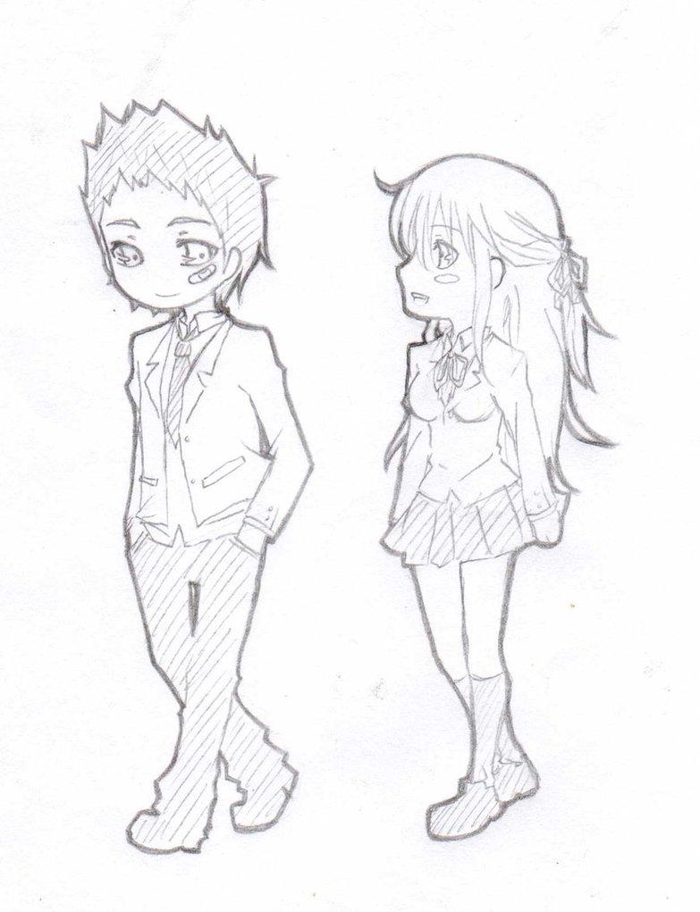 783x1021 Chibi Couple By Aumen