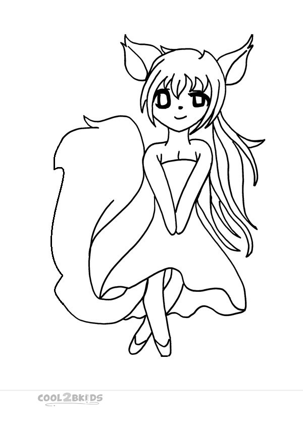 600x834 Chibi Coloring Sheets Pages