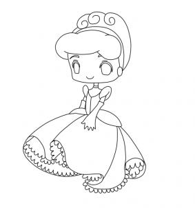 283x302 How To Draw Chibi Disney Princess Cute Kawaii Resources