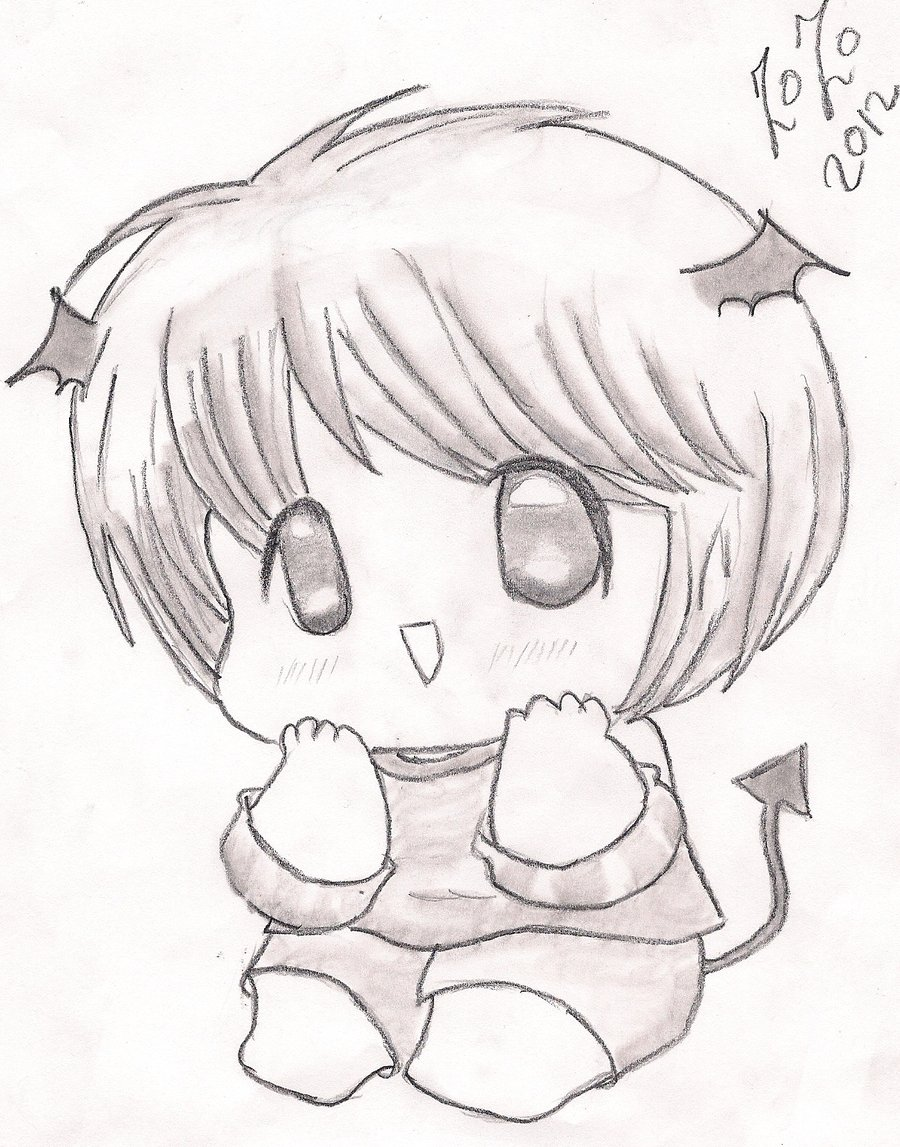 900x1147 Cute Chibi Baby By Doctorzozoo