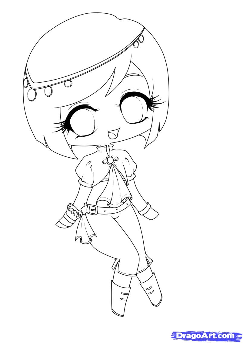 802x1129 Anime Chibi Girl Drawing Cartoon Girls 20599wall.jpg Copic