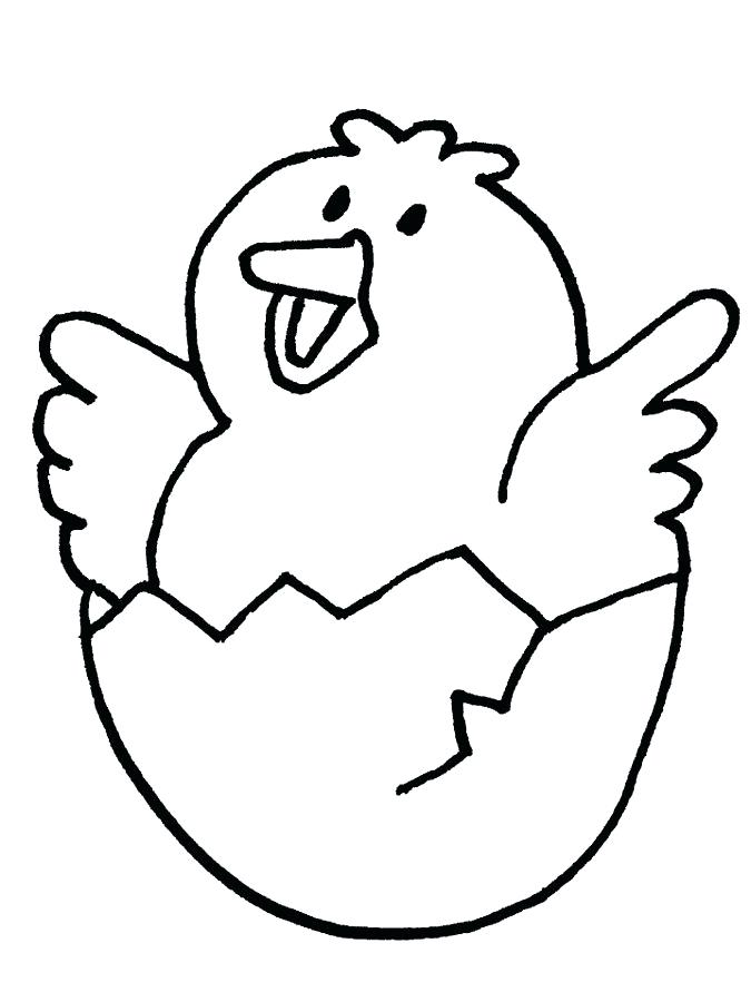 675x900 Best Chicken Coloring Page Free Download Cute Pages Hatch A Baby
