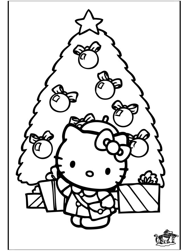 Coloring Merry Hy New Year Arts Cute Christmas Tree At Gets For Personal