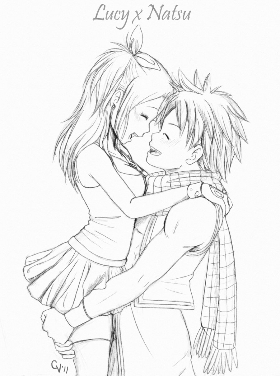 900x1209 Anime Couple Hugging Drawings In Pencil Easy Cute Anime Couple