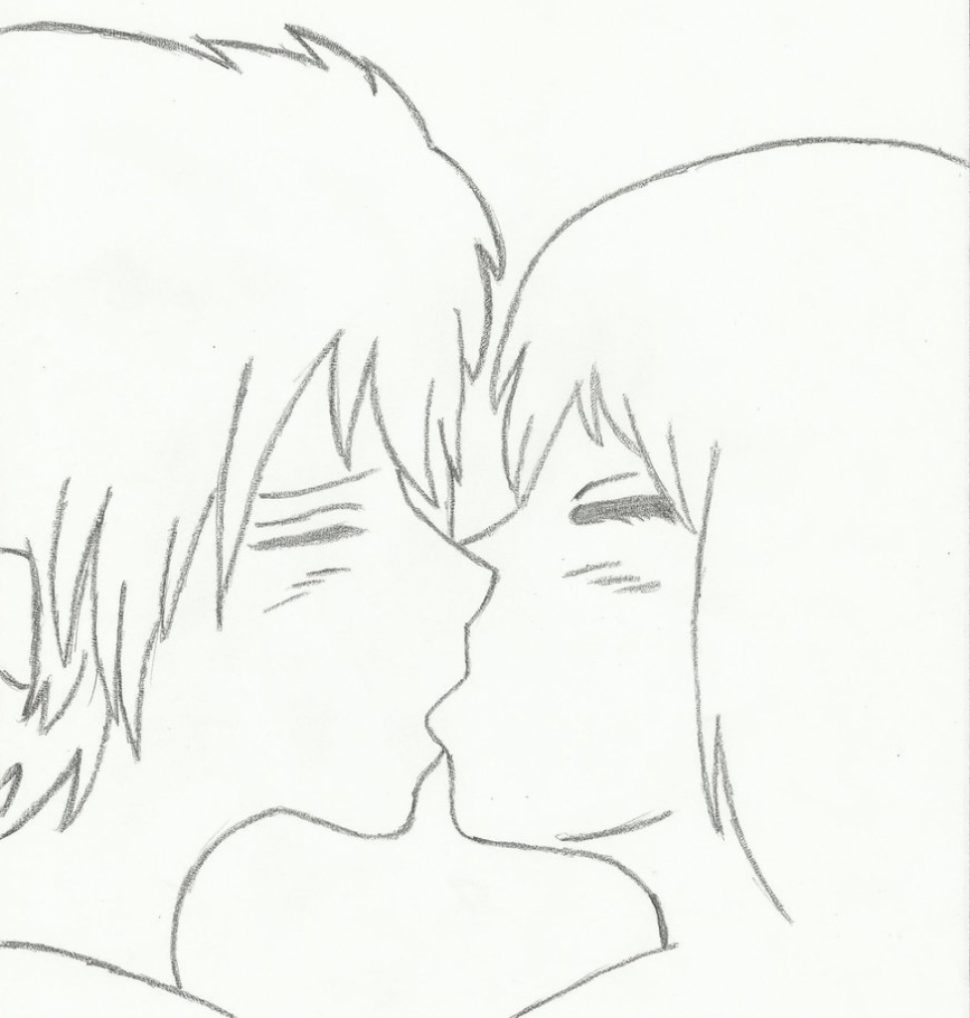 970x1018 Cute Easy Couple Pictures To Draw
