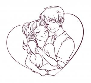 Cute Couple Drawing Pictures At Getdrawings Com Free For Personal
