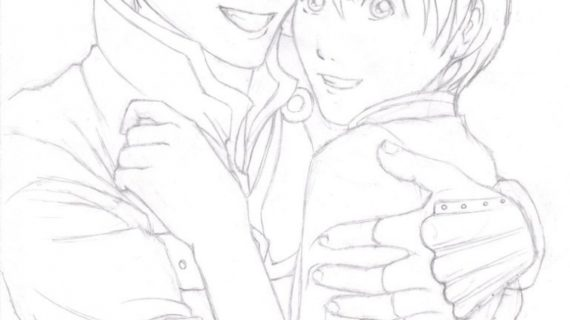 570x320 Pencil Drawings Of Couples Pencil Drawings Of Anime Couples