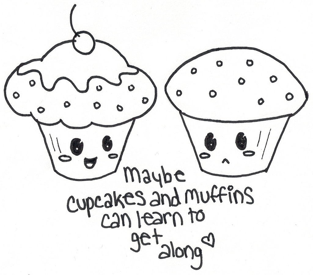 1024x901 Cute Cupcake Coloring Pages Drawings