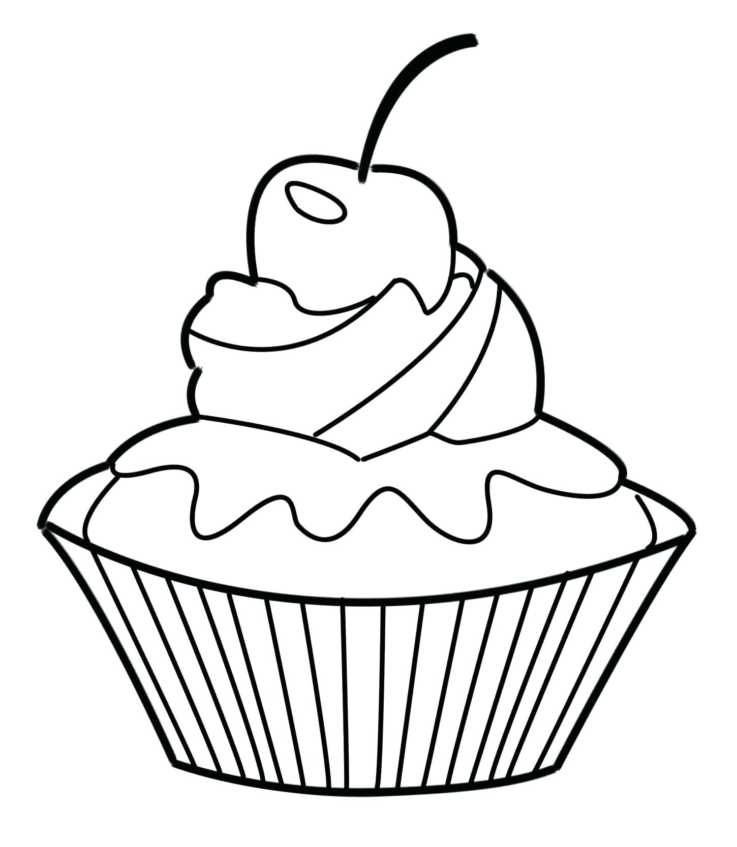 1450x1667 coloring Cute Cupcakes Coloring Pages