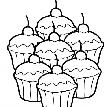 350x350 Cute Cupcake Coloring Sheets Cute Coloring Sheets Love