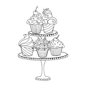 300x300 69 best Cupcake Drawings images on Pinterest Greedy people