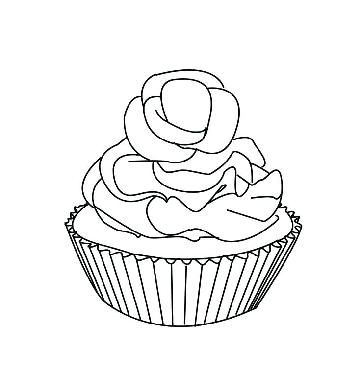 736x756 Pictures Of Cupcakes To Color Coloring Pages Cupcakes Print Out