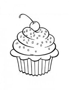 236x304 Sparkle Cupcakes Cake, Coloring books and Embroidery