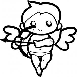 302x301 Best 25+ Cupid drawing ideas on Pinterest Florida outline, Color