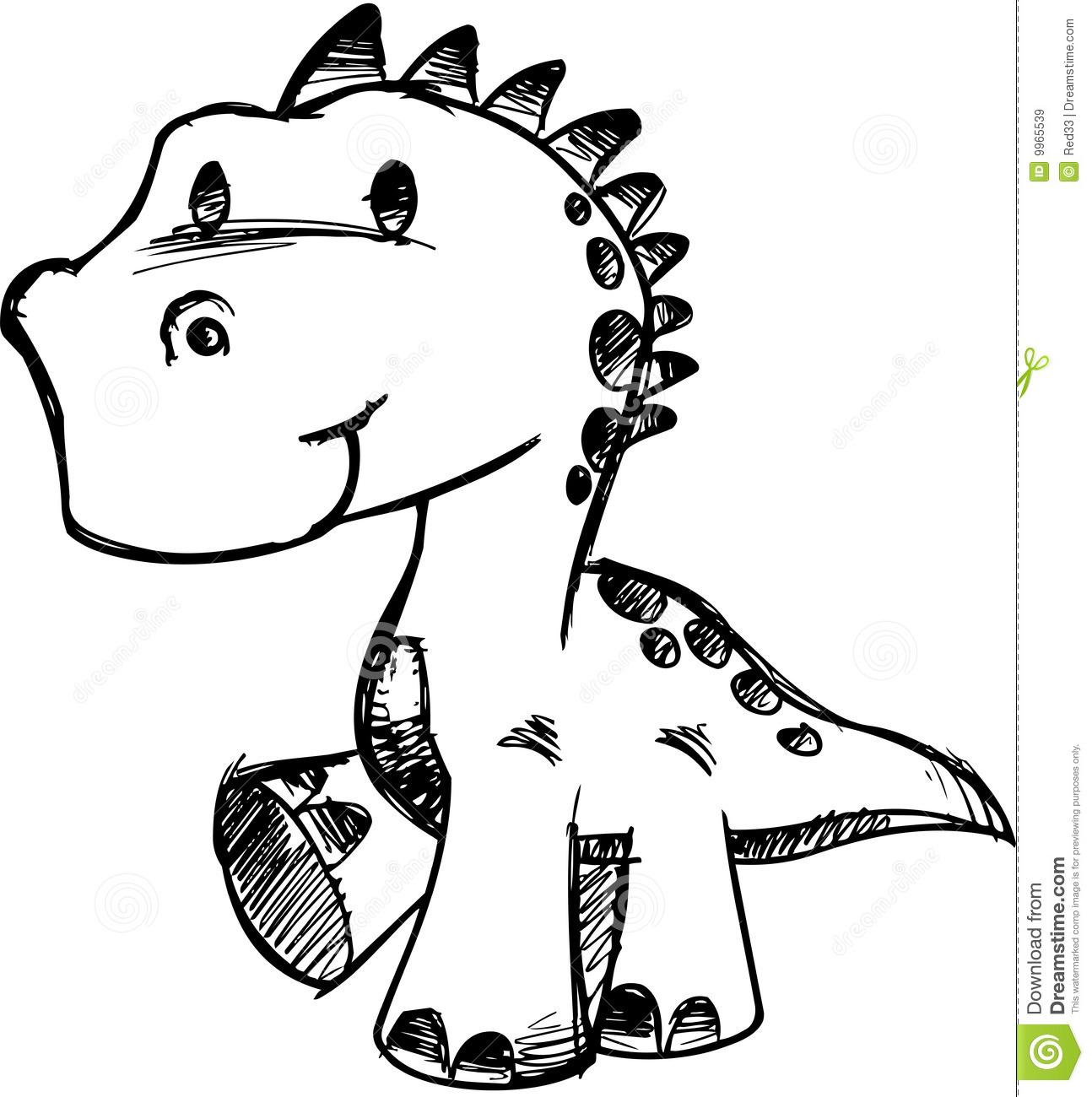 1294x1300 Cute Dinosaur Drawing How To Draw A Dinosaur Cute Dinosaur Easy