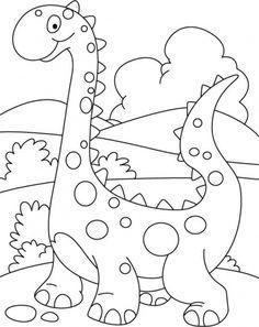 236x297 Cute Dinosaur Drawings To Color Dinosaur Cartoon Drawings
