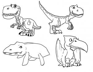 302x235 How To Draw How To Draw Cute Dinosaurs, Cute Dinosaurs